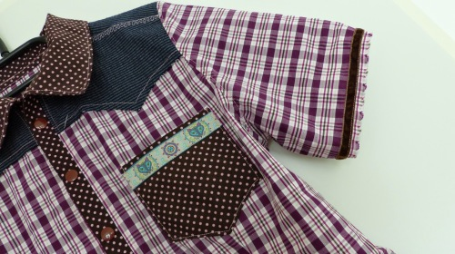 Joey Schnittmuster Hemd Bluse für Kinder farbenmix