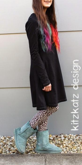 Kiara Teens nähen schlicht und cool farbenmix