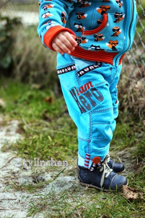 Kinderkleidung selber nähen Schnittmuster farbenmix