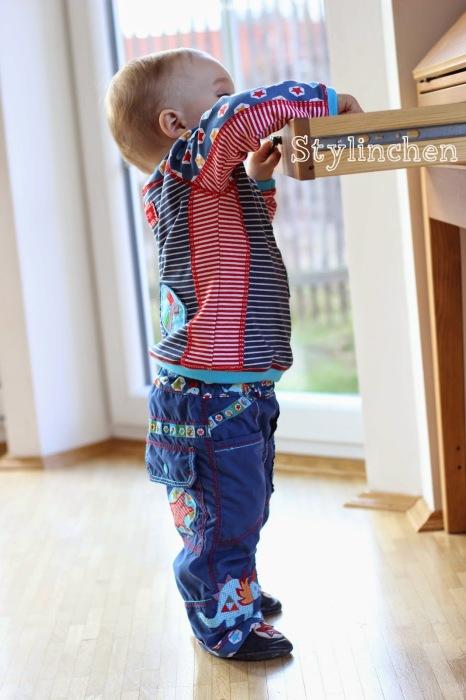 Kombi alles selbstgenäht Kinderkleidung selbst nähen farbenmix