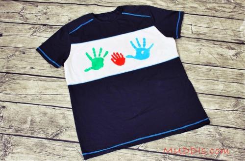 Männer Mann Shirt nähen Schnittmuster Geschenk für Mann nähen