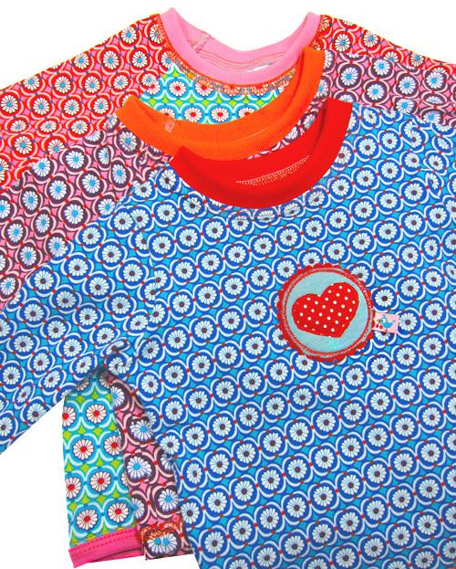Shirts für Kleinkinder nähen Jersey Flutter Jolijou