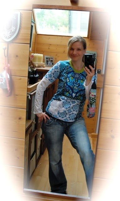 Antonella Mixshirt für Damen farbenmix Antonia