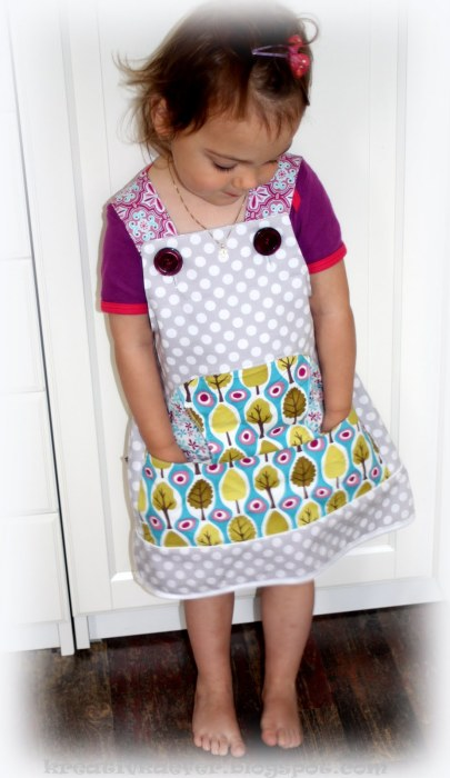 Celina süßes Trägerkleid farbenmix