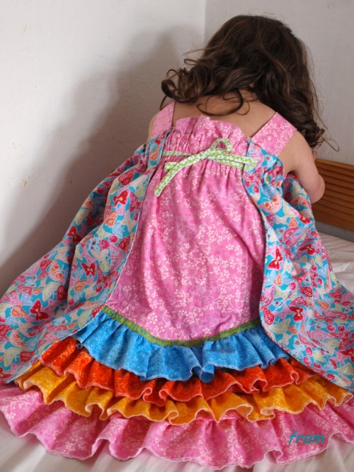 Feliz Sommerkleid Partykleid schickes Kleid selber nähen
