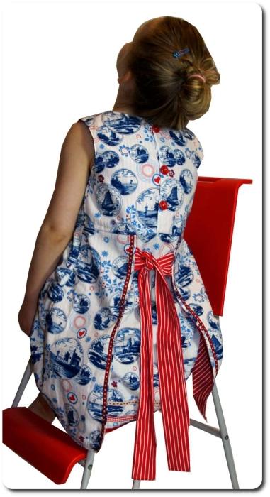 Halima Dirndl nähen Folklore Kleid Anfänger