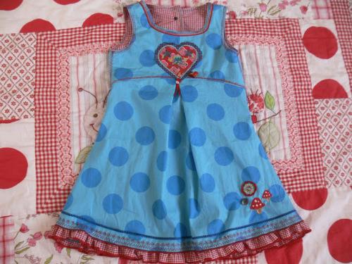 Halima Kleid Dirndl nähen Mädchen Kinder