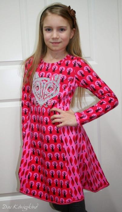 Kiara farbenmix Kleid Basic Schnittmuster Königskind