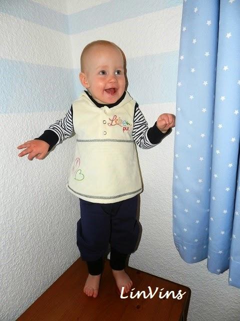 Kuschelbasics Babykleidung selbst nähen farbenmix