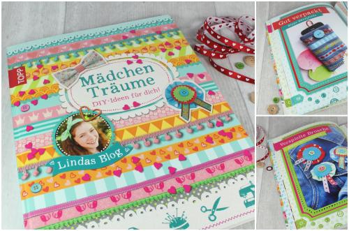 Mädchenträume Buch Nähen Mädchen Teenager DIY farbenmix Blog Collage