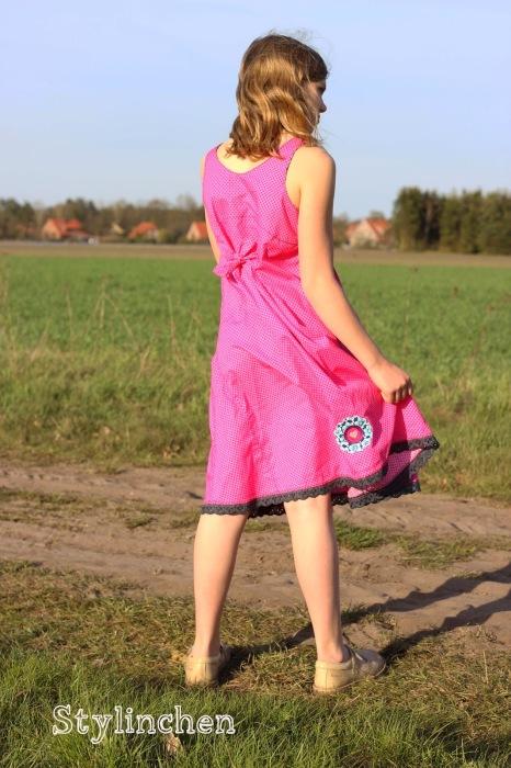 Rosalie Kleid farbenmix Sommerkleid Mädchen Schnittmuster nähen