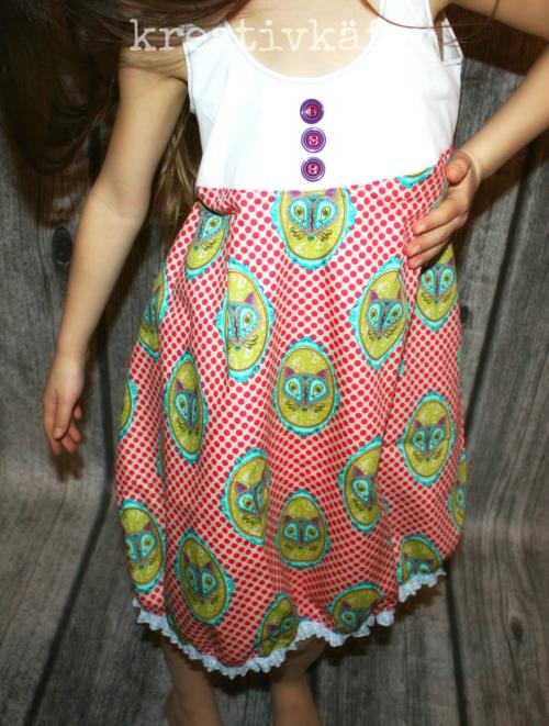 Sommerkleid Baumwolle Webware nähen Schnittmuster