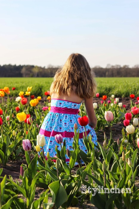 Lorelei Kleid für größere Mädchen farbenmix Schnittmuster
