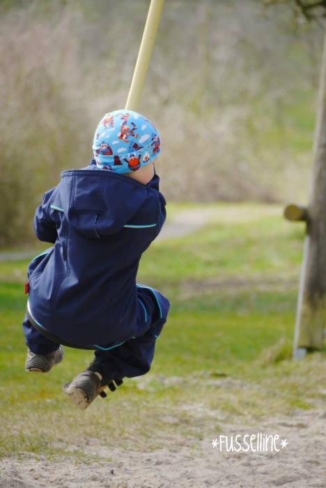 Outdoorkombi selbstgenäht WALDEMAR Hose und QUINN Softshelljacke Schnittmuster