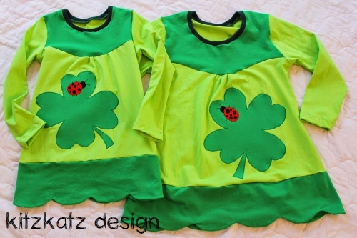 Shirts mit Kleeblatt kleinFanö farbenmix
