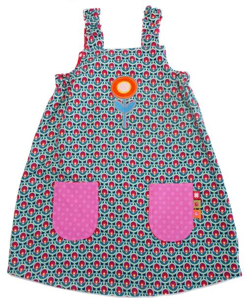 Kleid im Retrostyle für Mädchen, Schnitt MADITA