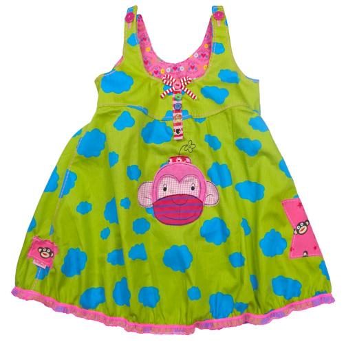 Kleid selber nähen, Schnittmuster Mädchen, farbenmix Rosalie
