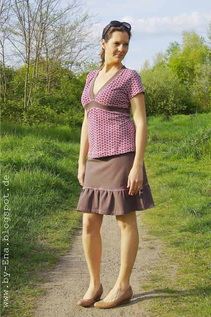 farbenmix_noelia_oberteil_bienvenido colorido_Shirt_by ena