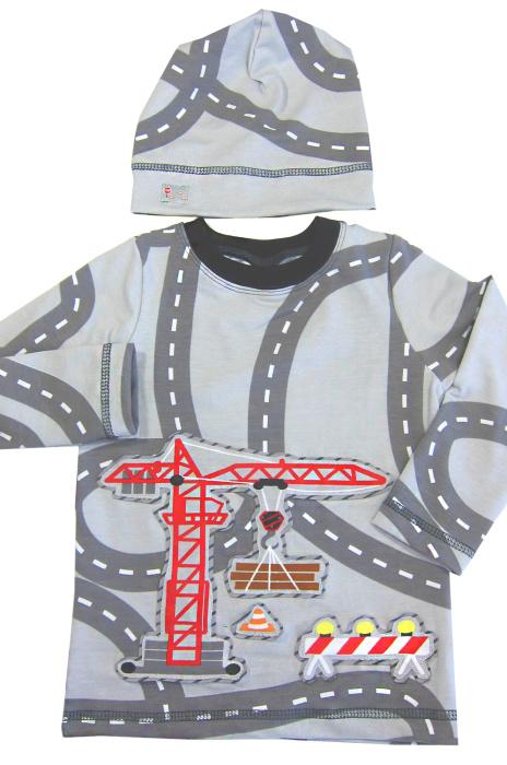Shirts für Jungs mit der normalen Nähmaschine nähen