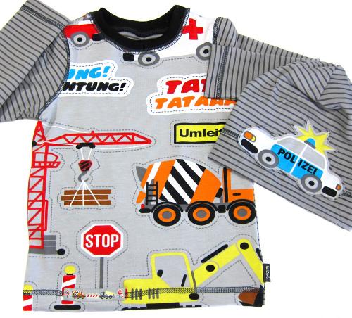 Nahen für Jungs, Shirtschnittmuster für Anfänger