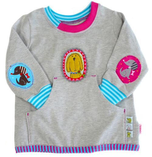 Schnittmuster für Kinder: Shirt nähen mit Ellbogenpatches