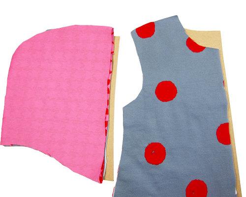 Jacke für Kinder und Babys zuschneiden und selbernähen