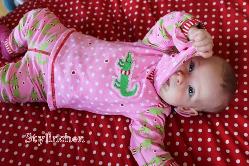 Babykombi nähen, Schnittmuster für Neugeborene