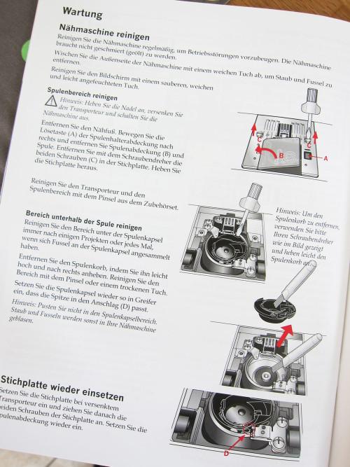 Nähmaschine zuverlässig, sauberes Stichbild und leichte Bedienung