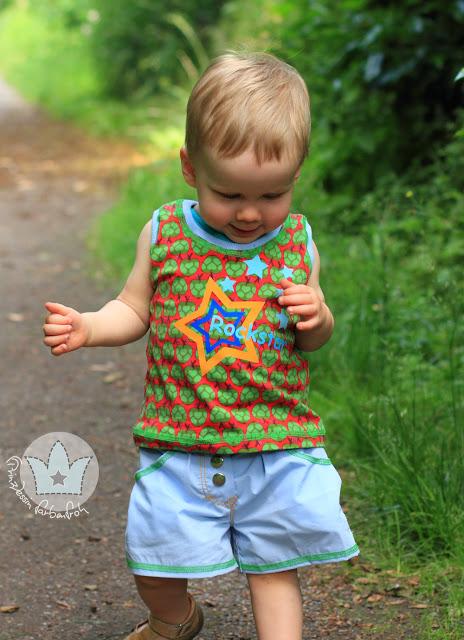 farbenmix_Hos_Blooma_Shirt_Kleein Amrum_Obertei_Baby_Kids_Jungen_prinzessin farbenfroh