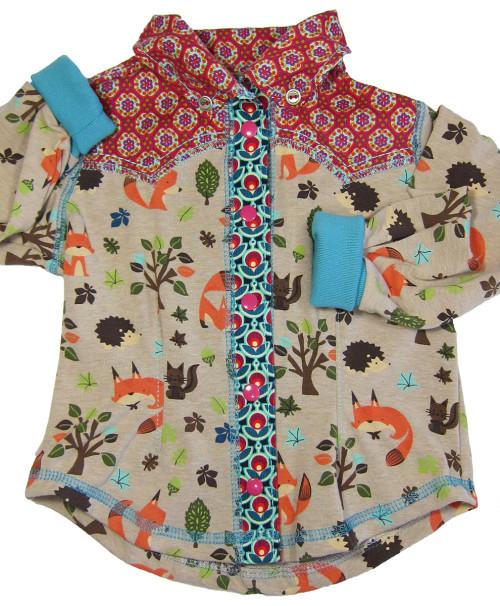 Blusenhemd selber naehen, farbenmix JOEY