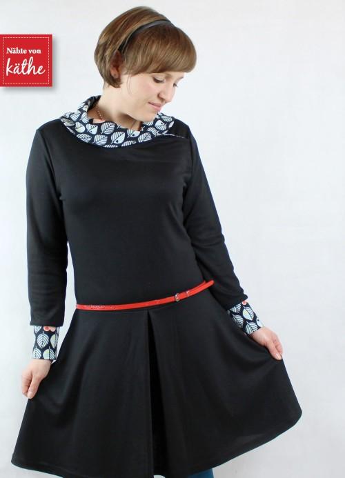 Damenkleid aus Jersey MARA, Ebook von farbenmix.de