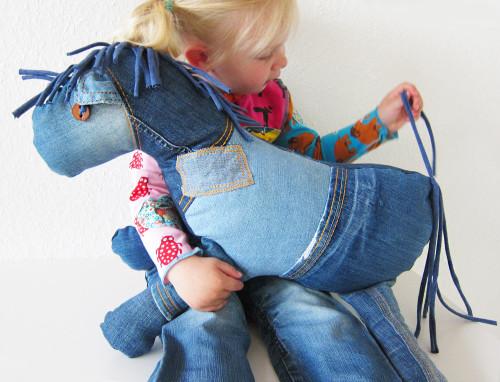 Wochenendangebot und ein Knuffelpferd im Recycle-style