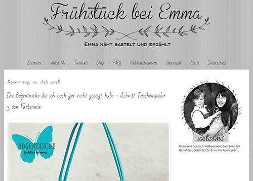 Neue Social Media Mitarbeiter bei Farbenmix : Emma von Frühstück bei Emma