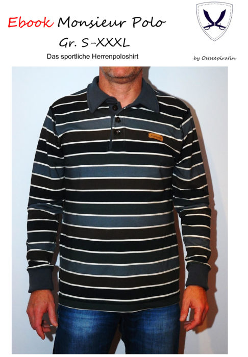 Ebook Poloshirt für Herren: tietelblatt_monsieur_polo