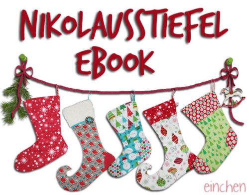 nikolaus-stiefel selber nähen Ebook Farbenmix Design Eichen