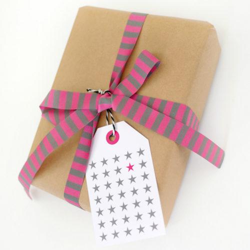 Webband Farbenmix Geburtstag Geschenke Überraschung