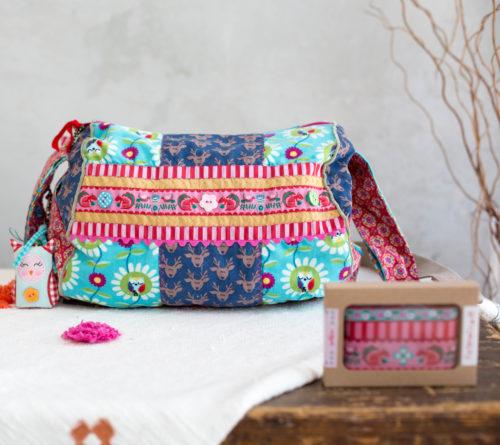 Zylindertasche Taschenspieler CD Farbenmix - Borten - Designer Kollektion Boxen, farbenmix - Jolijou