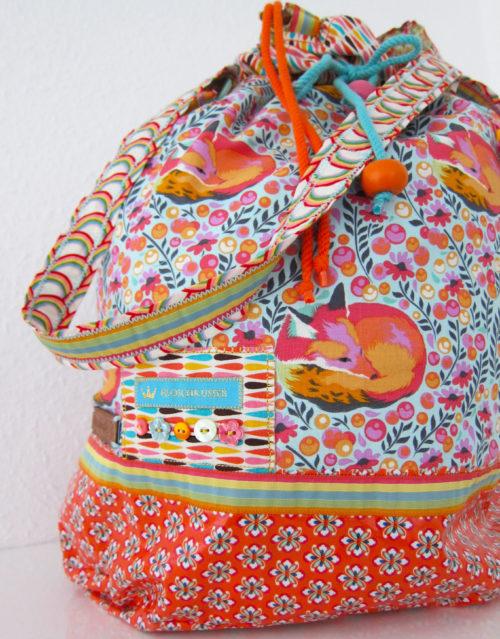 Packs Ein Beuteltasche bunte Einkaufstasche - farbenmix.de