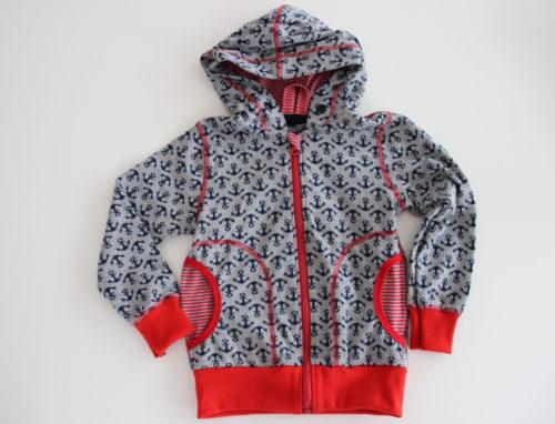 Farbenmix Papierschnittmuster klimperklein - Jacke - für Jungs