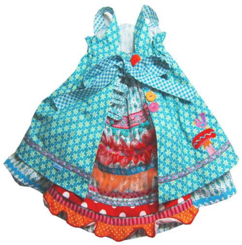 Feliz von hinten - Kleider aus Webware - Schnittmuster von farbenmix.de