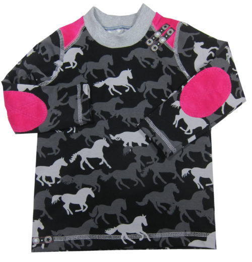 Tomboy Schnittmuster Kinderhirt T-shirts für Kinder selber nähen mit den Schnittmustern von farbenmix