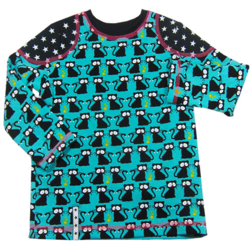 Tomboy - Shirtschnittmuster für Kinder von farbenmix - näh dir mit Schritt für Schritt Anleitungen ein cooles Shirt für deine Kids