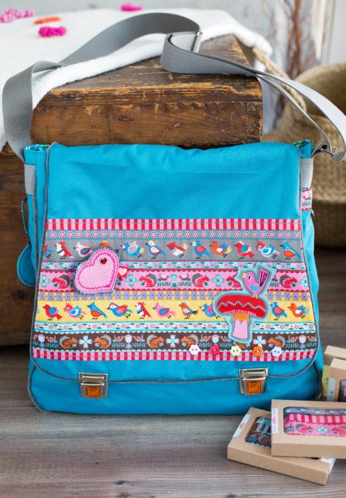 Taschenspieler BUBE ebook Messengerbag - Taschenschnitt farbenmix