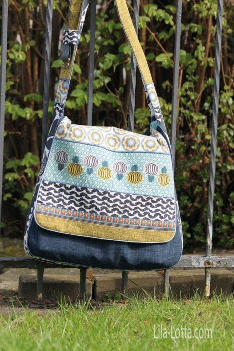 Ebook Taschenspieler BUBE - Messengerbag - Designbeispiel von Sandra Lila Lotta