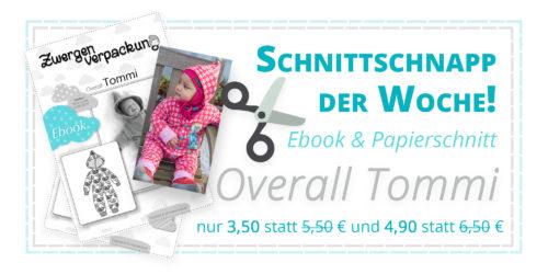 Overall TOMMI- Nähen für Babies - Ebook und Papierschnitt von farbenmix