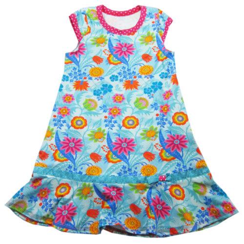 Trägerkleid von klimperklein als Papierschnittmuster von farbenmix - Kleider aus Jersey nähen mit farbenmix.de