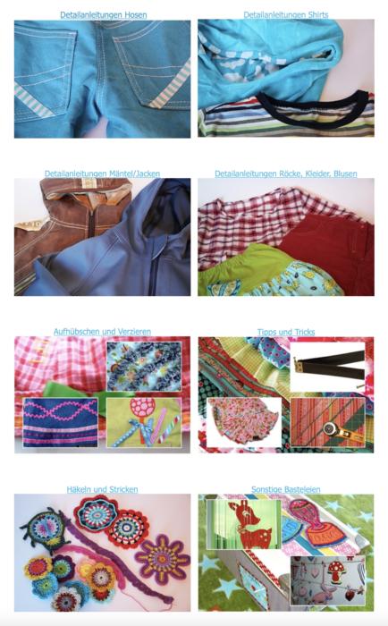Detailanleitungen Grundkenntnisse Nähen - Hosenbund mit Gummizug nähen ganz einfach ein Beitrag von farbenmix
