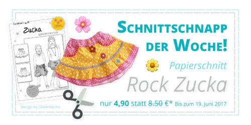 SchnittSchnappderwoche Zucke Papierschnittmuster Design Glitzerblume farbenmix