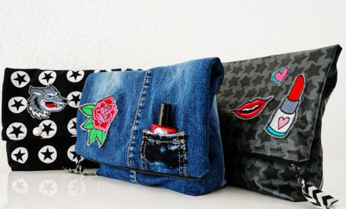 Kosmetiktasche Taschenspieler 3 cool upcycling und girly