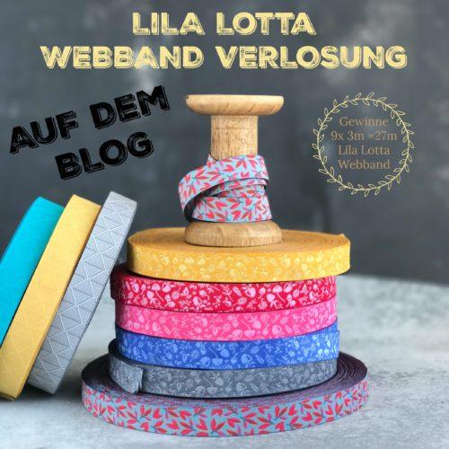 Forest Webband Verlosung LilaLotta Webbänder jetzt auf dem Blog